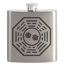 Dharma dice black Flask