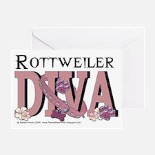 RottweilerDIVA Greeting Card