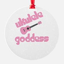 ukulele goddess womens uke Ornament