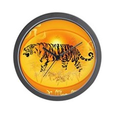 Year Of The Tiger 2010 PosterP Wall Clock