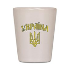 2-ukraine.old Shot Glass