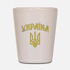 2-ukraine.old Shot Glass