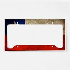 Chile License Plate Holder
