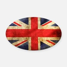 UK Oval Car Magnet