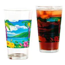 Sunny MauiCalandar Drinking Glass