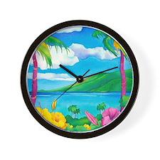 Sunny MauiCalandar Wall Clock