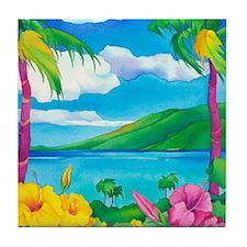Sunny MauiCalandar Tile Coaster