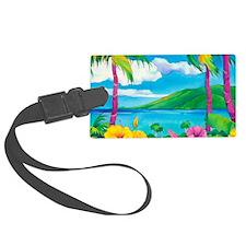 Sunny MauiCalandar Luggage Tag