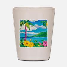 Sunny MauiSquare Shot Glass