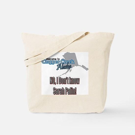 Sarah Palin tshirt Tote Bag