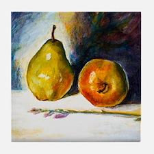 pear  apple Tile Coaster
