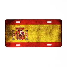 Spain Aluminum License Plate