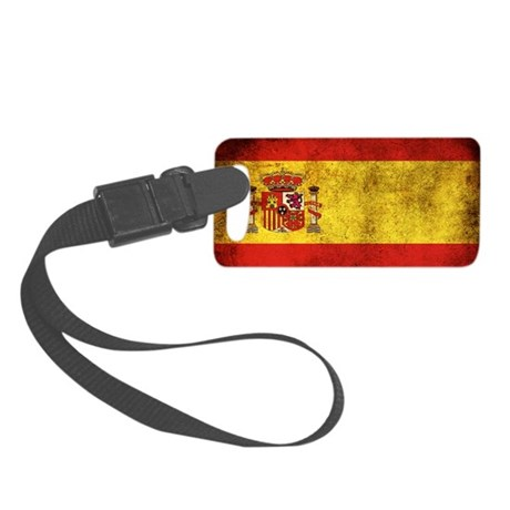 Spain Small Luggage Tag