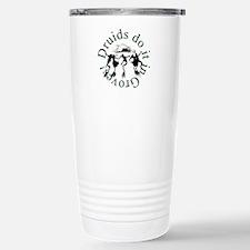 Druids Do It In Groves Travel Mug