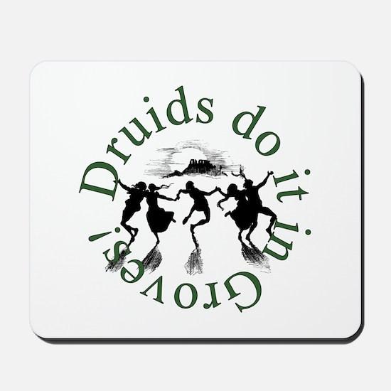 Druids Do It In Groves Mousepad