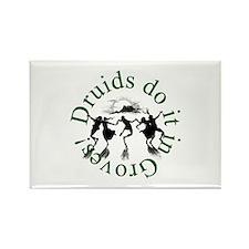 Druids Do It In Groves Rectangle Magnet