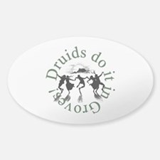 Druids Do It In Groves Decal
