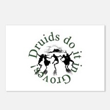 Druids Do It In Groves Postcards (Package of 8)
