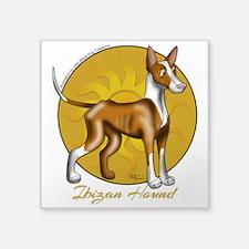 Ibizan Hound With Sun Sticker