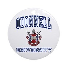 ODONNELL University Ornament (Round)