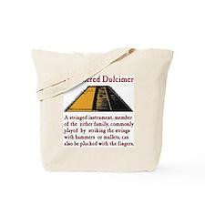 Hammered Dulcimer Definition Tote Bag
