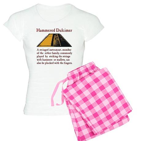 Hammered Dulcimer Definitio Women's Light Pajamas