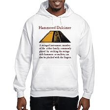 Hammered Dulcimer Definition Hoodie