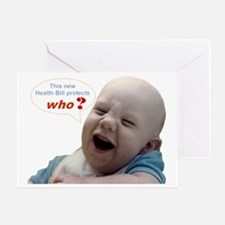 Abortion20 NOT AN OPTION 4 BabyBigTa Greeting Card