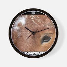 Niki shirt Wall Clock