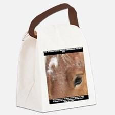 Niki shirt Canvas Lunch Bag