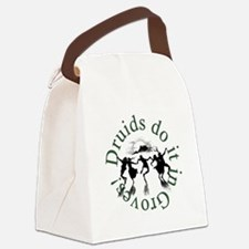 Druids Do It In Groves Canvas Lunch Bag