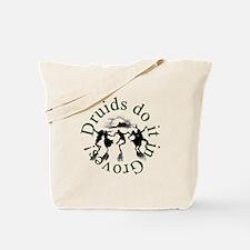 Druids Do It In Groves Tote Bag
