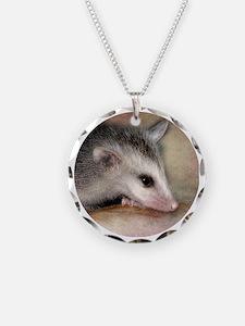 Round possum Necklace