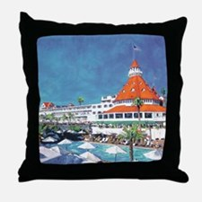 Hotel Del by RD Riccoboni 9x12 Throw Pillow