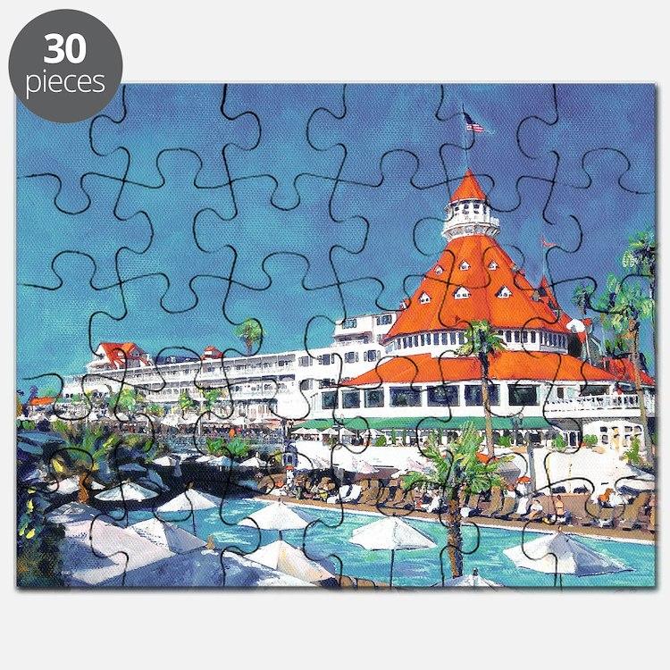 Hotel Del by RD Riccoboni 9x12 Puzzle