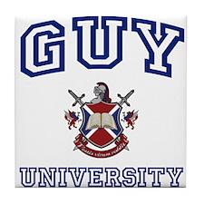 GUY University Tile Coaster