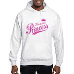 Bosnian Princess Hooded Sweatshirt
