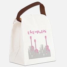ukulele uke ukelele Canvas Lunch Bag