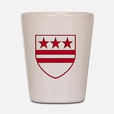 George Washingtons Coat of Arms Shot Glass