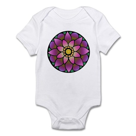 Lotus Mandala Infant Creeper
