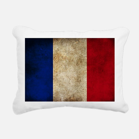 France Rectangular Canvas Pillow