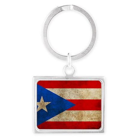 PuertoR Landscape Keychain