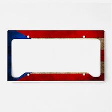 PuertoR License Plate Holder