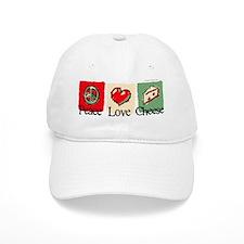peacelovecheese Baseball Cap