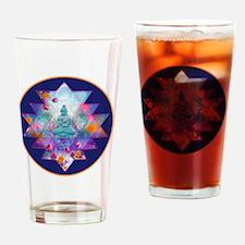 cosmic_Sri_Yantra2 Drinking Glass