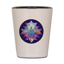 cosmic_Sri_Yantra2 Shot Glass