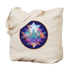 cosmic_Sri_Yantra2 Tote Bag