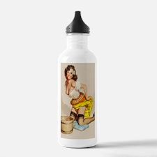 apple poster mini Water Bottle