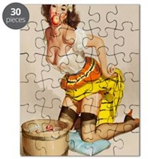 apple poster mini Puzzle