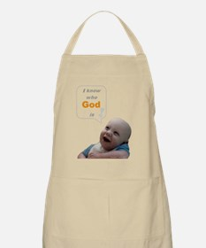 Abortion17 NOT AN OPTION 4 BabyBigTalk Apron